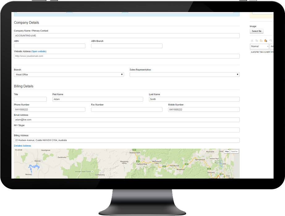 CRM-retail-3 NEED TO UPDATE YOUR CUSTOMER DETAILS
