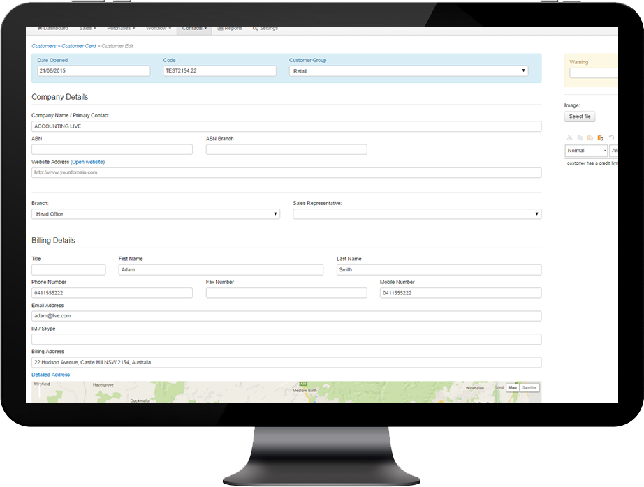 CRM-wholesale-4 NEED TO UPDATE YOUR CUSTOMER DETAILS